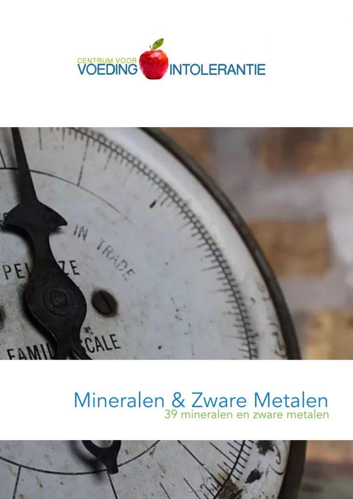 Mineralen en Zware Metalen Analyse (haartest)