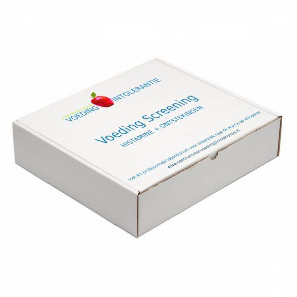 Voeding screening ontstekingsreactie en histamine